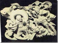 風神雷神 社寺彫刻
