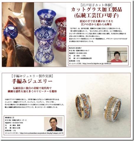 葛飾町工場物語いいものセレクション 彫金檜垣・江戸切子清水