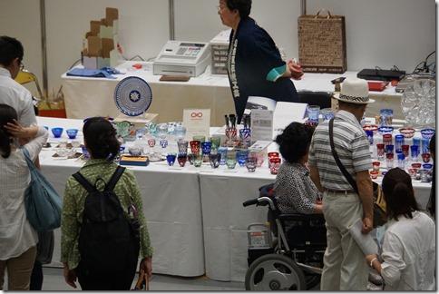 伝統と革新 ものづくり 匠の技の祭典2016 江戸切子清水硝子