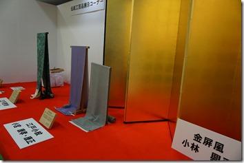 葛飾の伝統産業展示