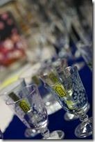 硝子彫刻松浦さくら柄江戸彫りグラス